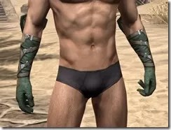 Outlaw Homespun Gloves - Male Front