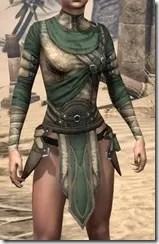 Outlaw Homespun Jerkin - Female Front