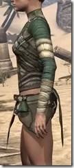 Outlaw Homespun Jerkin - Female Side