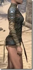 Outlaw Iron Cuirass  - Female Right