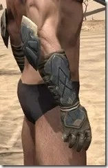 Outlaw Iron Gauntlets - Male Right