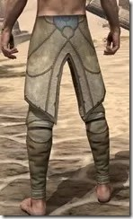 Outlaw Iron Greaves - Male Rear