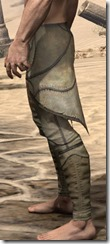 Outlaw Iron Greaves - Male Side
