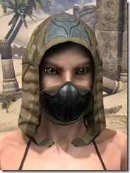Outlaw Iron Helm - Female Front