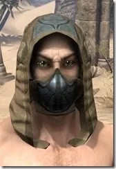 Outlaw Iron Helm - Male Front