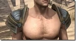 Outlaw Iron Pauldron - Male Front