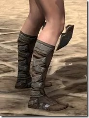 Outlaw Rawhide Boots - Female Right