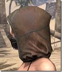 Outlaw Rawhide Hat - Female Side