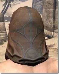 Outlaw Rawhide Hat - Male Rear