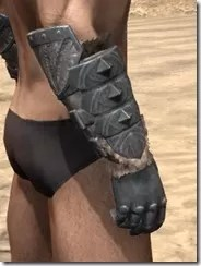 Skinchanger Iron Gauntlets - Male Right