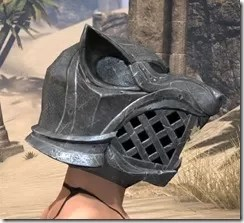 Skinchanger Iron Helm - Female Right