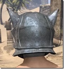 Skinchanger Iron Helm - Male Rear