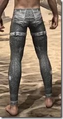 Stahlrim Frostcaster Iron Greaves - Male Rear
