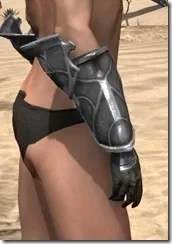 Thieves Guild Iron Gauntlets - Female Right