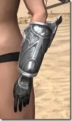 Thieves Guild Iron Gauntlets - Female Side