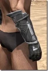 Thieves Guild Iron Gauntlets - Male Right