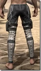 Thieves Guild Iron Greaves - Male Rear