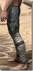 Thieves Guild Iron Greaves - Male Side