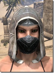 Thieves Guild Iron Helm - Female Front