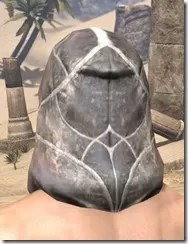 Thieves Guild Iron Helm - Male Rear