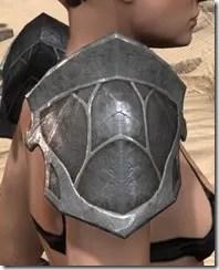 Thieves Guild Iron Pauldron - Female Right