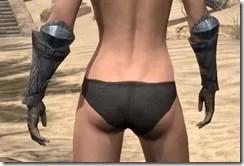 Yokudan Iron Gauntlets - Female Rear
