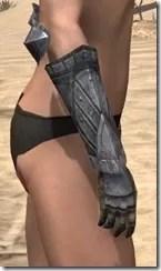 Yokudan Iron Gauntlets - Female Right