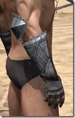 Yokudan Iron Gauntlets - Male Right