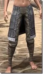 Yokudan Iron Greaves - Female Front