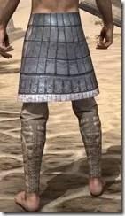 Yokudan Iron Greaves - Male Rear