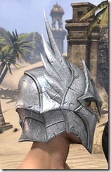 Divine Prosecution Heavy Helm - Male Right
