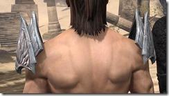 Divine Prosecution Light Epaulets - Male Rear