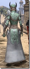 Divine Prosecution Light - Female Robe Rear
