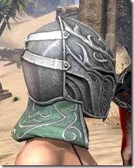 Sapiarch Iron Helm - Female Right