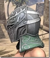 Sapiarch Iron Helm - Female Side