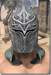 Sapiarch Iron Helm - Male Front