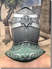 Sapiarch Iron Helm - Male Rear