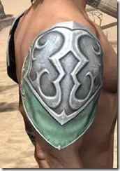 Sapiarch Iron Pauldron - Male Right