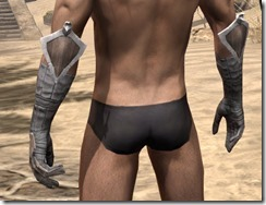 Scalecaller Iron Gauntlets - Male Rear
