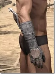 Scalecaller Iron Gauntlets - Male Right