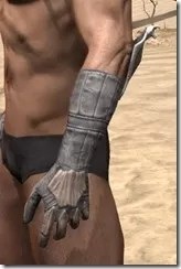 Scalecaller Iron Gauntlets - Male Side