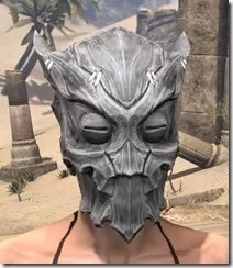Scalecaller Iron Helm - Female Front