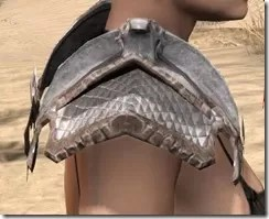 Scalecaller Iron Pauldron - Female Right