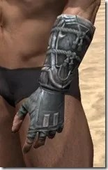 Tsaesci Iron Gauntlets - Male Side