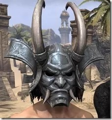 Tsaesci Iron Helm - Male Front