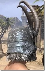 Tsaesci Iron Helm - Male Right