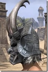 Tsaesci Iron Helm - Male Side