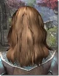 Barbaric Windblown Hair Female Rear
