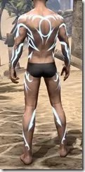 Body Imprint of the Psijic Order Male Rear