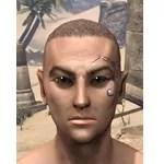 Eye-Briar Gemmed Tattoo